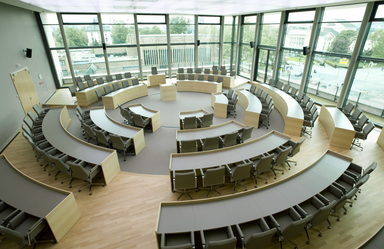 Stadthaus und Behördenzentrum Gießen   Buero Weller Innenarchitektur